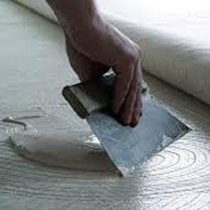 PVC, linóleum, szőnyegpadló ragasztó