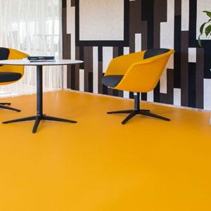 Egyszínű PVC padló
